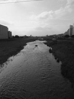 大和田橋から西の方をながむれば