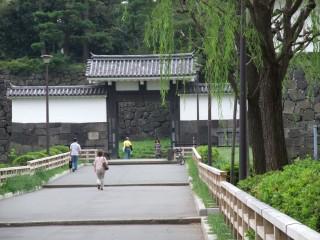 江戸城の面影が