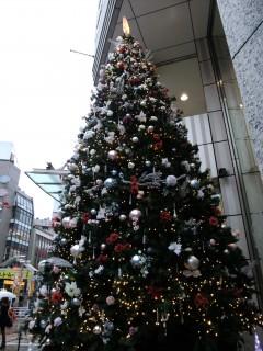 東急スクエア前のツリー(トゥリー)