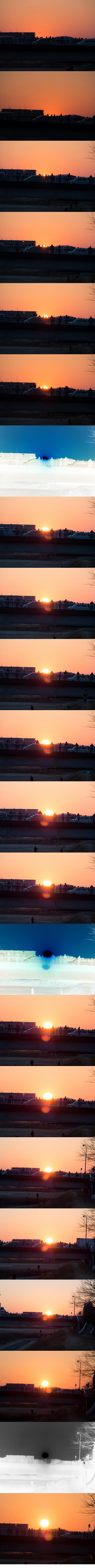 searial sunrise